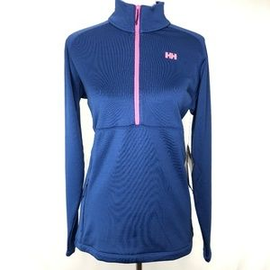 Helly Hansen Vertex Stretch Mid Layer Blue Size XL